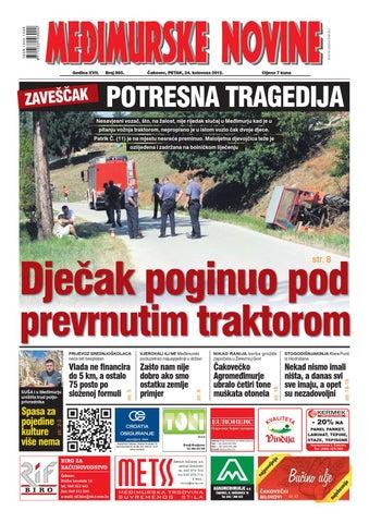 983280bd2c43 Međimurske novine 885 by Međimurske novine - www.mnovine.hr - issuu