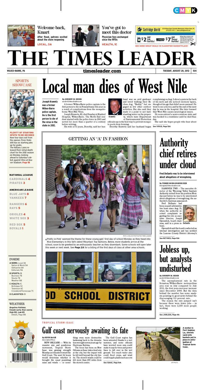 5e95ea0603934 Times Leader 08-28-2012 by The Wilkes-Barre Publishing Company - issuu