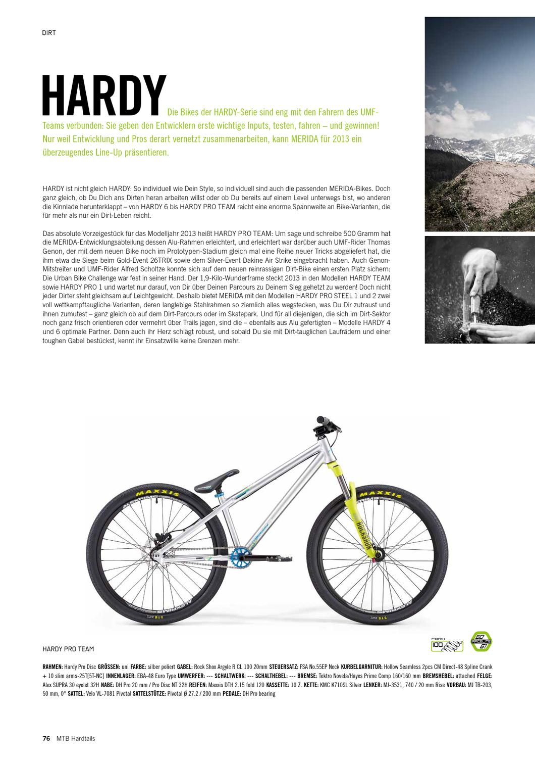 MERIDA BIKES 2013 by MERIDA & CENTURION Germany GmbH - issuu