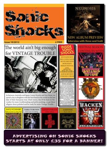 8709072c91 Sonic Shocks 10/2012 by SONIC SHOCKS Magazine - issuu