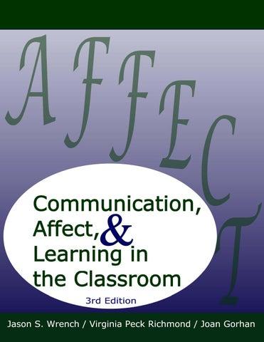 CommunicationAffectAndLearning by ESOL Club - issuu