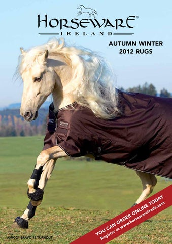 Aw12 Rugs En By Horseware Ireland Issuu