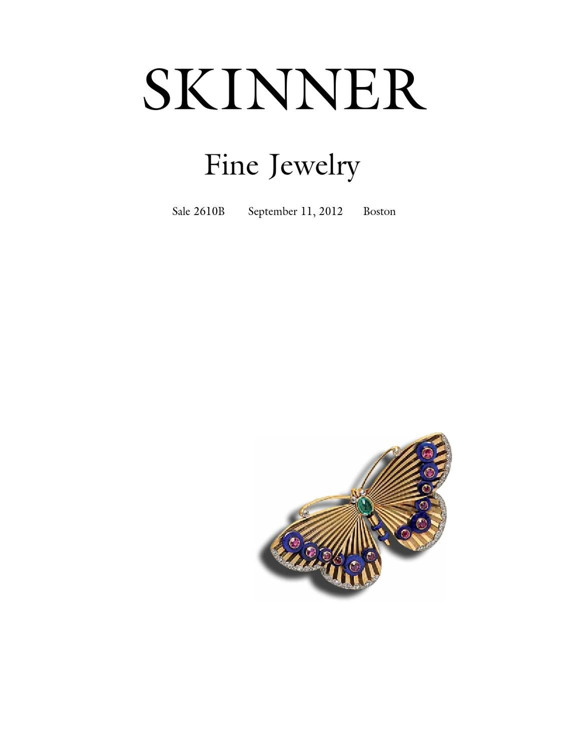Fine Jewelry Skinner Auction 2610b By Skinner Inc Issuu
