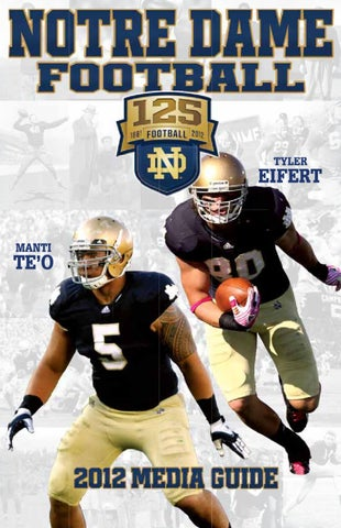 2012 Notre Dame Football Media Guide by Chris Masters - issuu 0a886b7a0