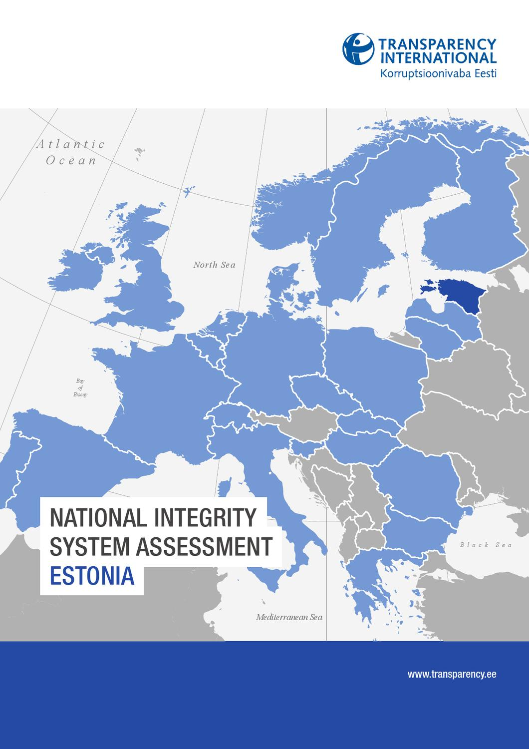 Executive Power Abuse Part 2 >> National Integrity System Assessment Estonia English (Executive Summary) by Transparency ...