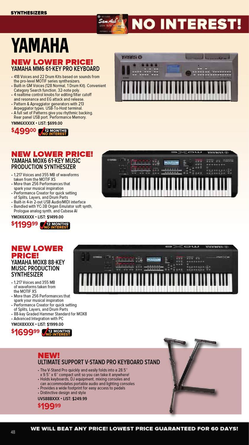 September2012 Sam Ash Gear Guide by Sam Ash Music Corp  - issuu