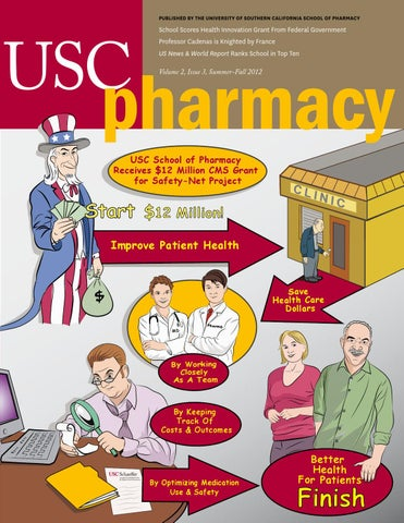 Usc Pharmacy Magazine Summer Fall 2012 By University Of Southern