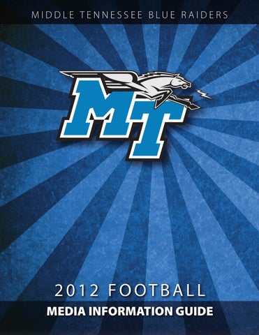 2009 Middle Tennessee Football Media Guide by Middle Tennessee State  University - issuu