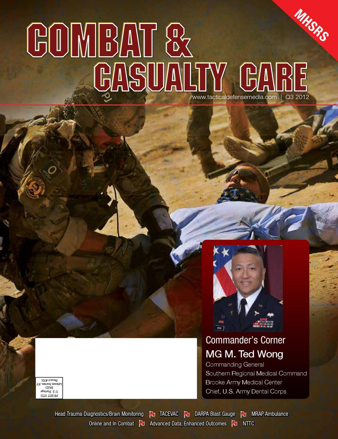 Combat & Casualty Care, Q3 2012 by Tactical Defense Media