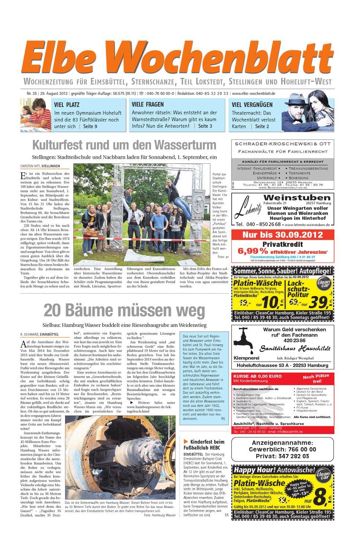 Eimsbüttel KW35 by Elbe Wochenblatt Verlagsgesellschaft mbH