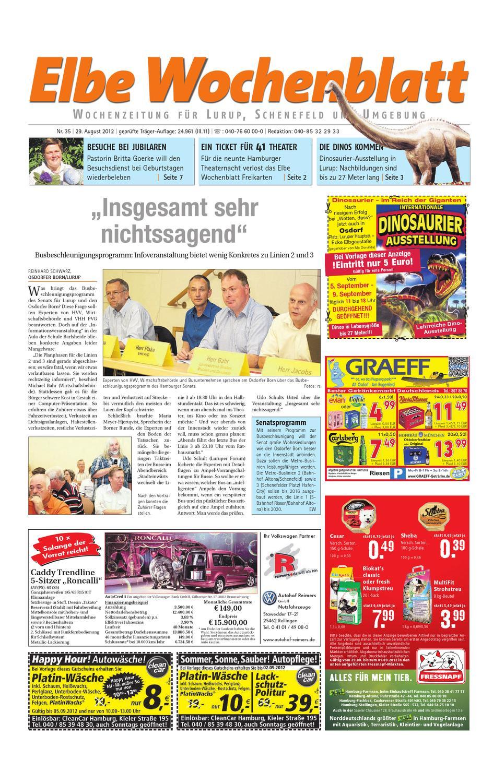 Lurup KW35 by Elbe Wochenblatt Verlagsgesellschaft mbH & Co.KG - issuu