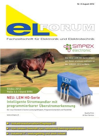 eLFORUM_2012_08 by LZ Fachverlag - issuu