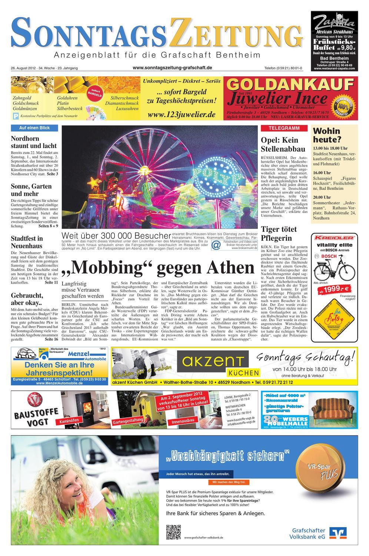SonZ_26.08.2012 By SonntagsZeitung   Issuu