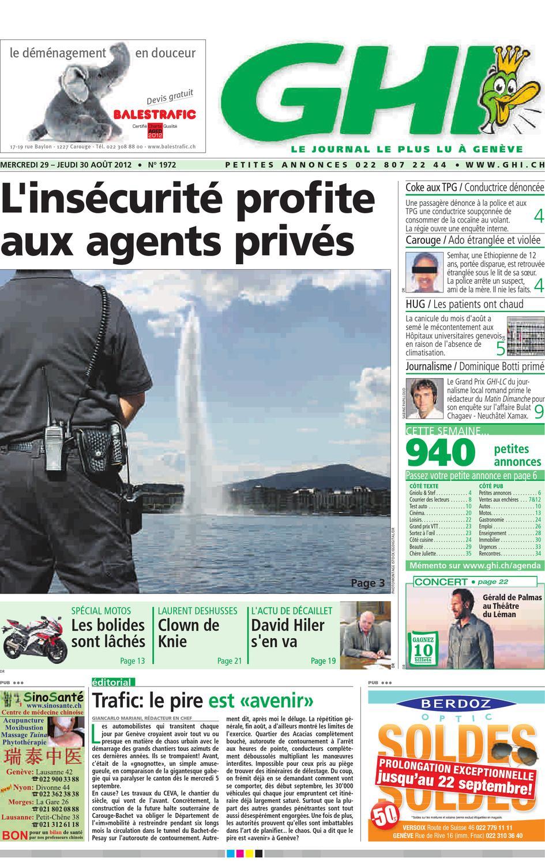 GHI du 30.08.2012 by GHI & Lausanne Cités - issuu