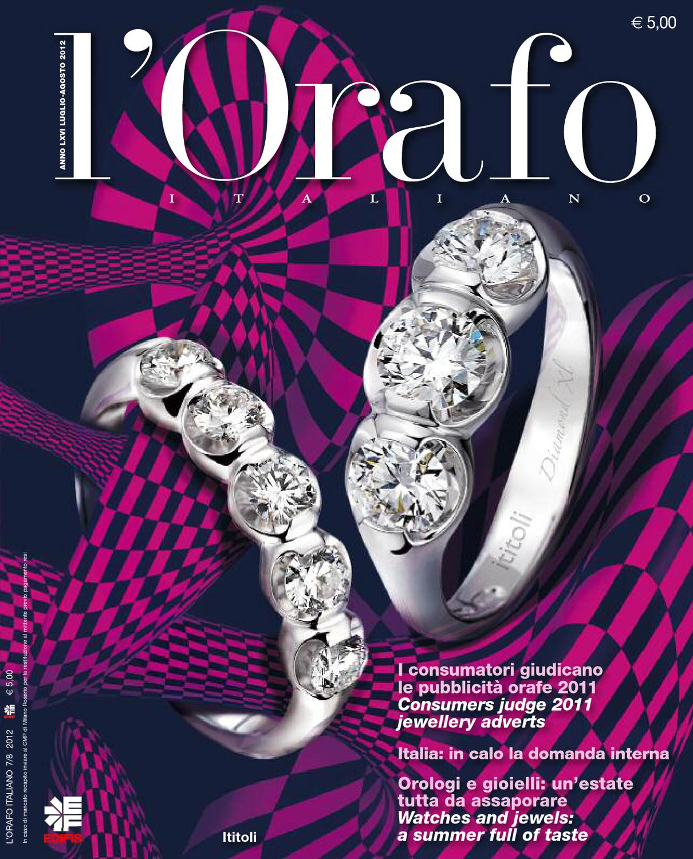 L Orafo Italiano 2012 07 08 by Edifis - issuu 5979ee6dffc