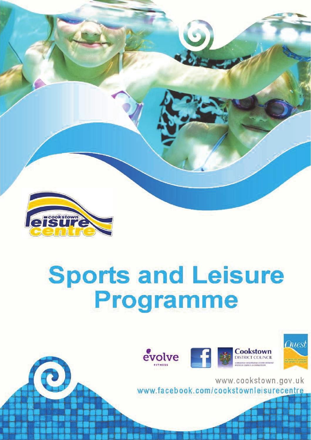 Sports And Leisure Programme By Shirley Boff Issuu