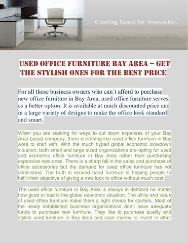 Used Office Furniture Bay Area U2013 Get The Stylish Ones For The Best Price  For All Those Business Owners Who Canu0027t Afford To Purchase New Office  Furniture In ...