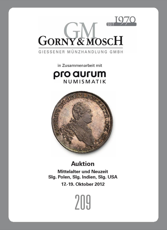 Gorny Mosch Auktionskatalog 209 By Gorny Mosch Giessener