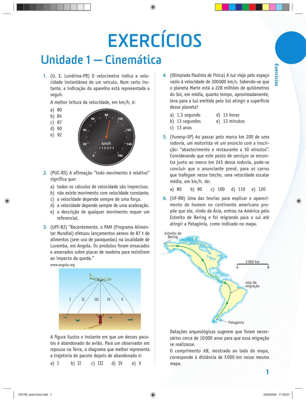 41b7e0bda25 Exercícios de Física by Thiago Almeida - issuu