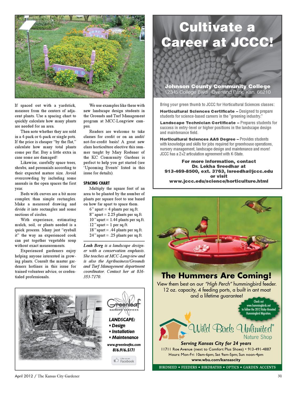 Johnson County Kansas Master Gardener Hotline Garden Ftempo