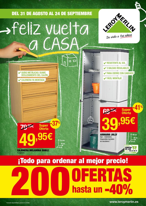 Catalogo leroy merlin vuelta a casa by - Catalogo baneras leroy merlin ...