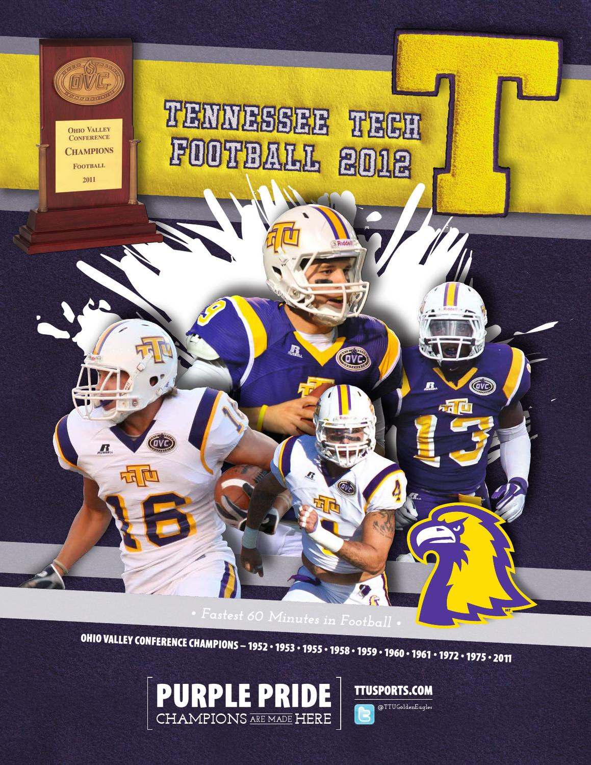 c3973556bdd 2012 Tennessee Tech Football Guide by Tennessee Tech Sports Information -  issuu