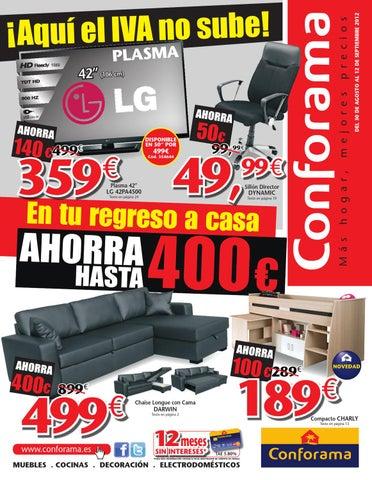Catalogo De Muebles Conforama Septiembre 2012 By Milyuncatalogos Com