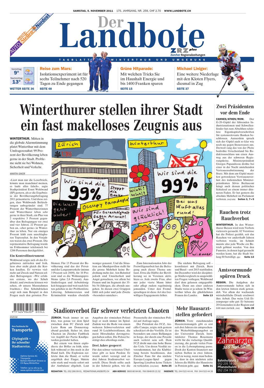 Voranschlag 2012 - Teil B (definitive Fassung) - Stadt Winterthur