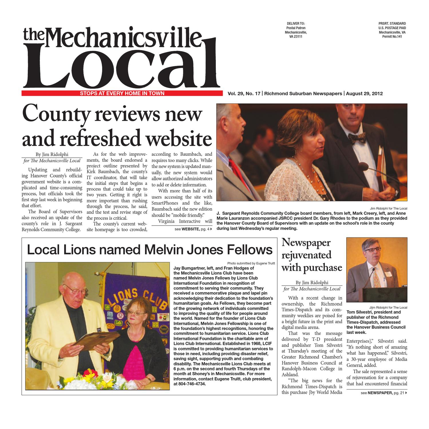 ae6cb7297 08/29/2012 by The Mechanicsville Local - issuu