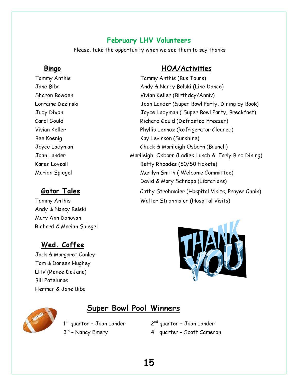 2012-03_Lake_Hammock_Village_Newsletter by Jeff H - issuu