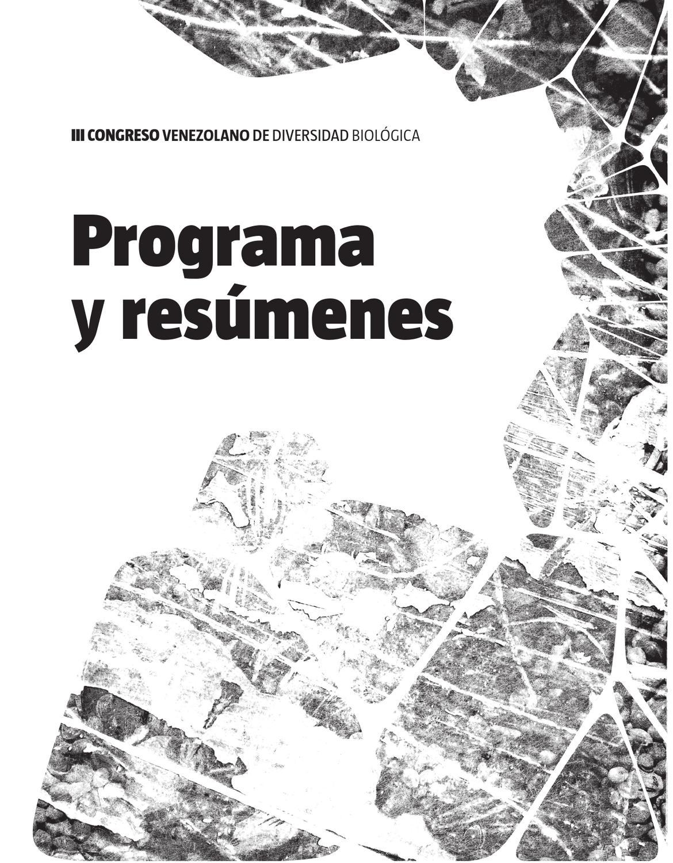 Libro de Resumenes del III Congreso Venezolano by Diversidad ...