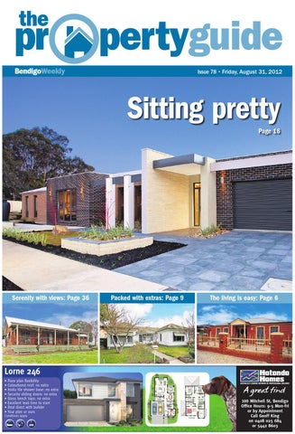bendigo weekly property guide issue 778 august 31 2012 by bendigo rh issuu com