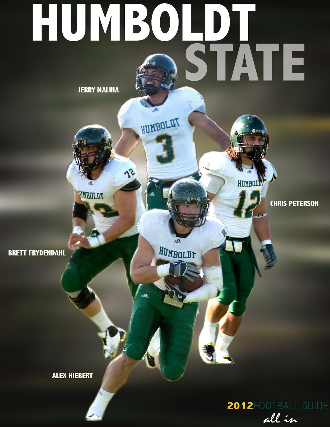 huge selection of 7ea31 12442 2012 Humboldt State Football Guide by HSU Sports Information - issuu