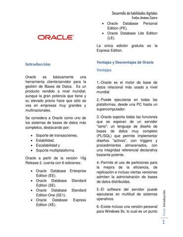 Oracle by Evelyn Jiménez - issuu