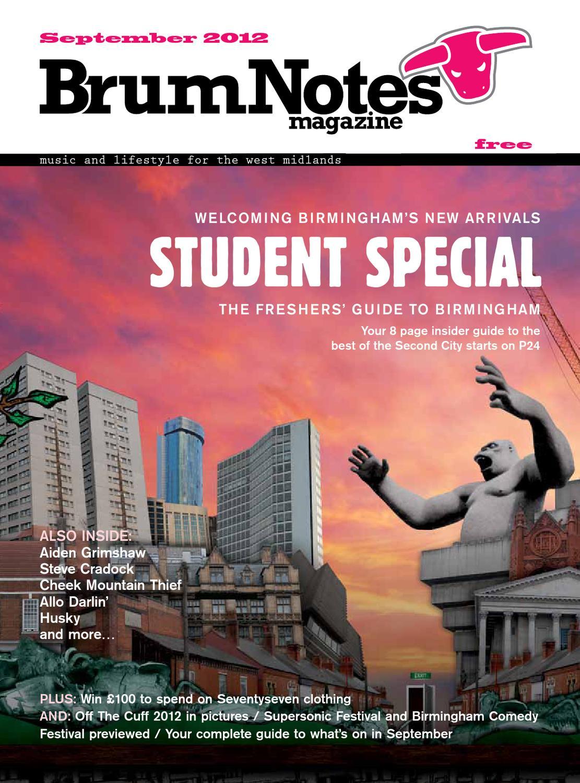 Brum Notes Magazine September 2012 by Brum Notes Magazine