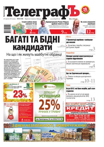 a0ffdffd4bd60f Кременчугский ТелеграфЪ №34 by Кременчугский ТелеграфЪ - issuu