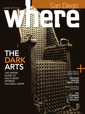 db70b2eac4 WHERE San Diego Magazine Fall 2012 by SoCalMedia - issuu