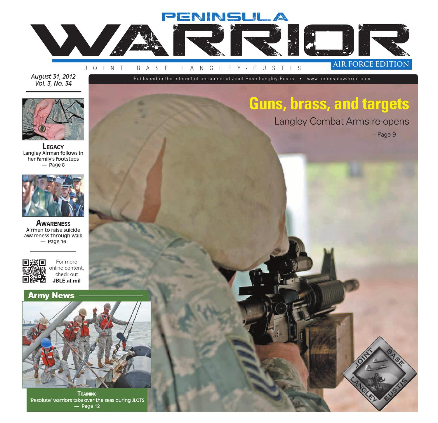 Peninsula Warrior Aug  31, 2012 Air Force Edition by