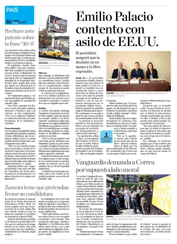 Diario La Hora El Oro 31 De Agosto 2012 By Diario La Hora