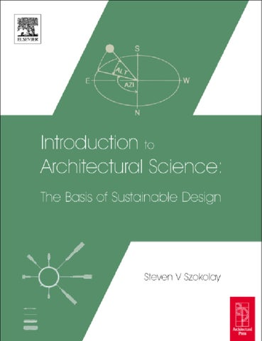 Introduction To Architectural Science By Cam Booksl Issuu
