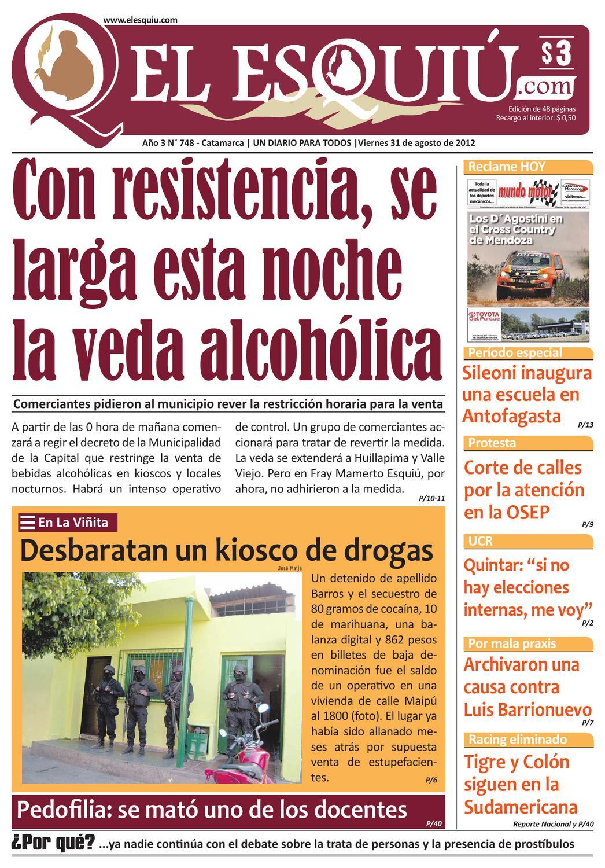0b7d93167 El Esquiu.com viernes 31 de agosto de 2012 by Editorial El Esquiú - issuu