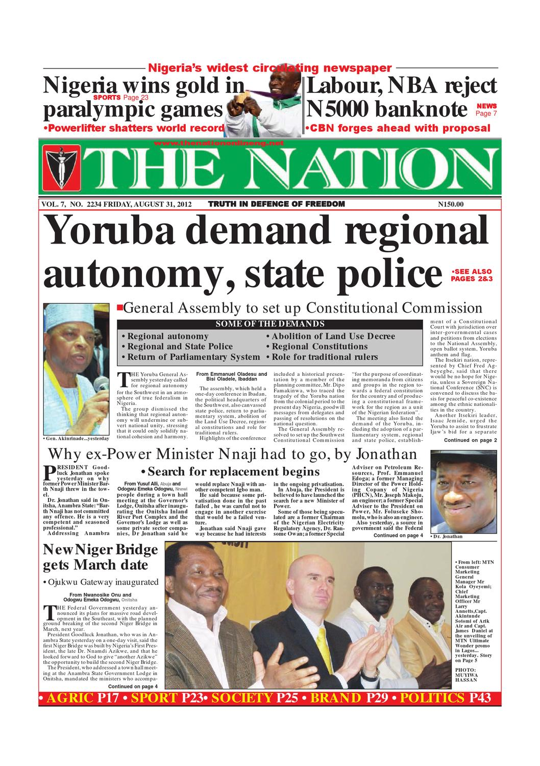 The Nation August 31, 2012 by The Nation - issuu