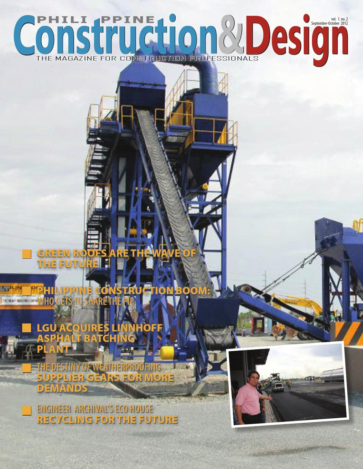 Philippine Construction And Design Issue 2 Wiring Komatsu Schematics Wa250 6