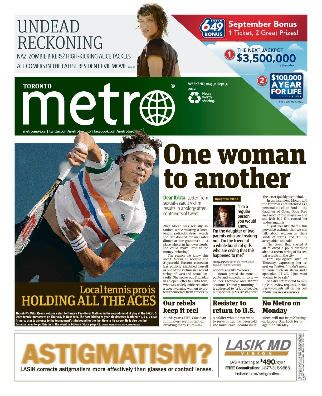 20120831_ca_toronto by Metro Canada - issuu