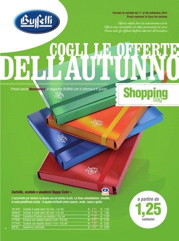 1c610376f2 Promozioni Scuola Ufficio Buffetti Shop settembre 2012 by Buffetti ...