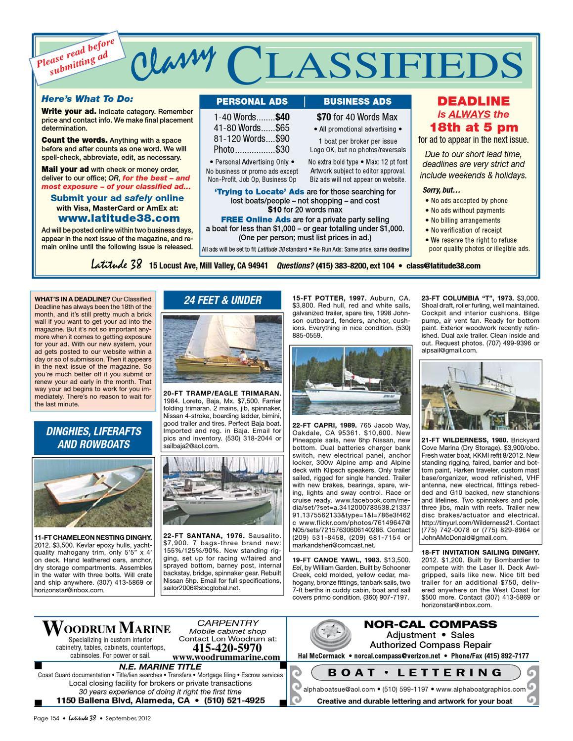 Latitude 38 Sept  2012 by Latitude 38 Media, LLC - issuu