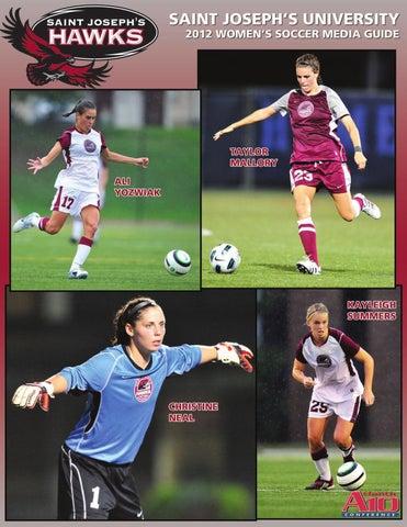 2012 Saint Joseph s Women s Soccer Guide by Saint Joseph s Athletics ... 24594bbe3