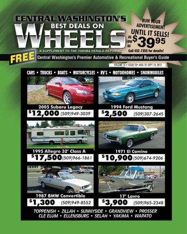 wheels 08 31 12 by yakima herald republic issuu