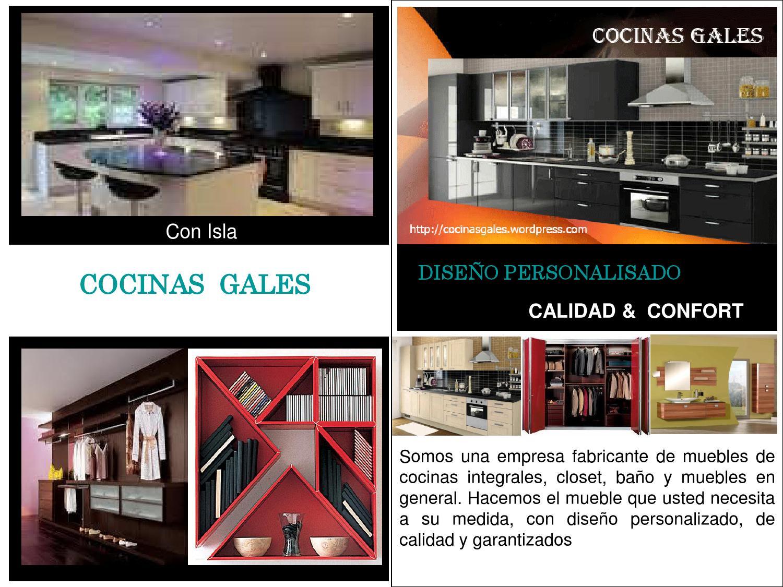 Brochure Cocinas Gales By Mario Grisales Issuu