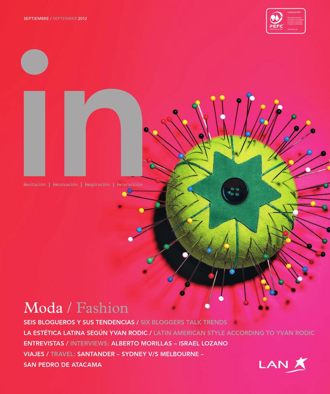 IN Magazine Septiembre 2012 by Spafax - issuu 5018aef3580d